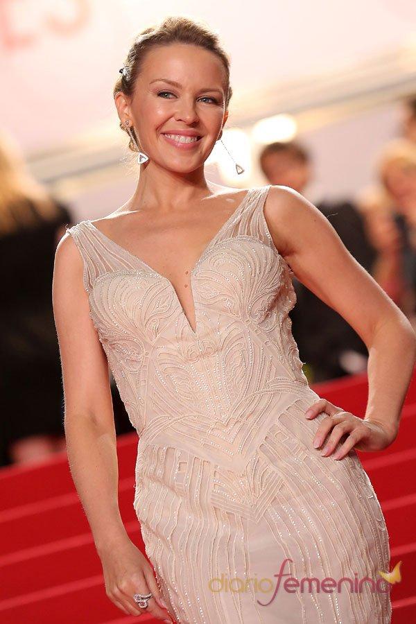 Kylie Minogue, la más guapa de la alfombra roja de Cannes 2013