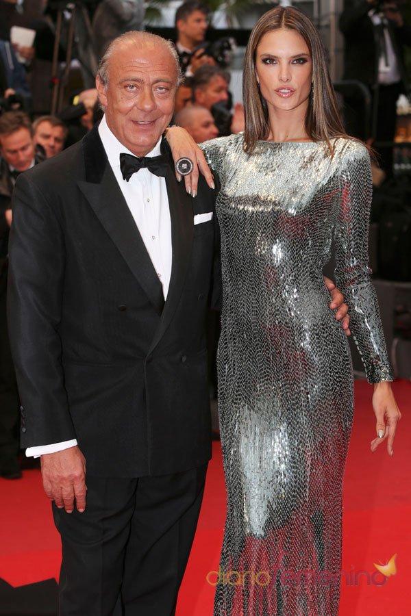 Alessandra Ambrosio, la sirena plateada de Cannes 2013