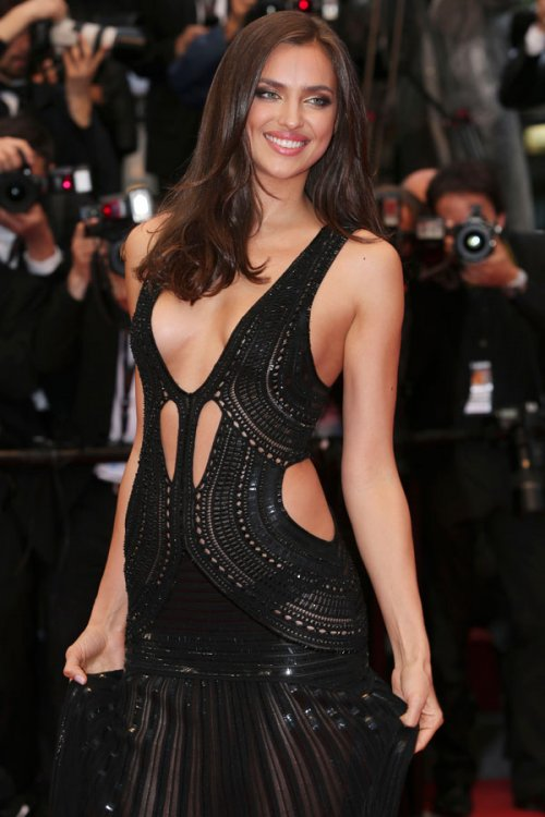 Irina Shayk, explosiva en el Festival de Cannes 2013