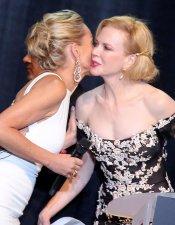 Nicole Kidman y Sharon Stone, en la gala Amfar de Cannes 2013