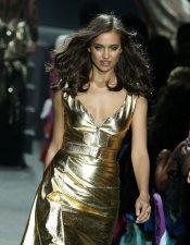 Cannes 2013: El vestido de fiesta de oro de Irina Shayk en Amfar