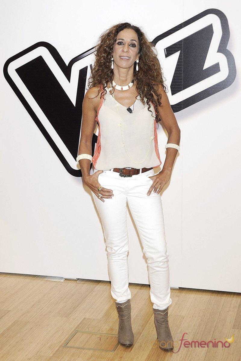 Rosario Flores, la coach más flamenca de 'La Voz' España