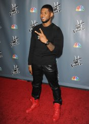 Usher, el coach rapero de 'The Voice' Estados Unidos