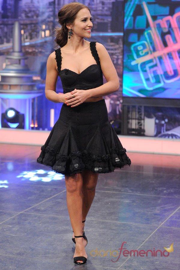 Paula Echevarría, su vestido negro más sexy