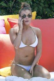 Leann Rimes, en bikini, cuerpazo de famosa en la playa
