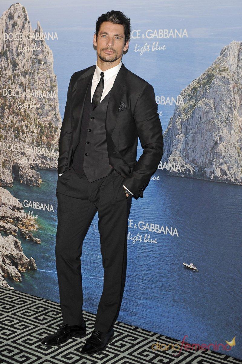 David Gandy, estrella invitada a la fiesta Dolce y Gabbana Mediterranean Summer 2013
