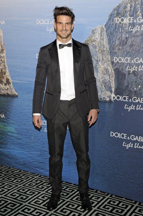 El futbolista Aitor Ocio en la fiesta Dolce y Gabbana Mediterranean Summer 2013