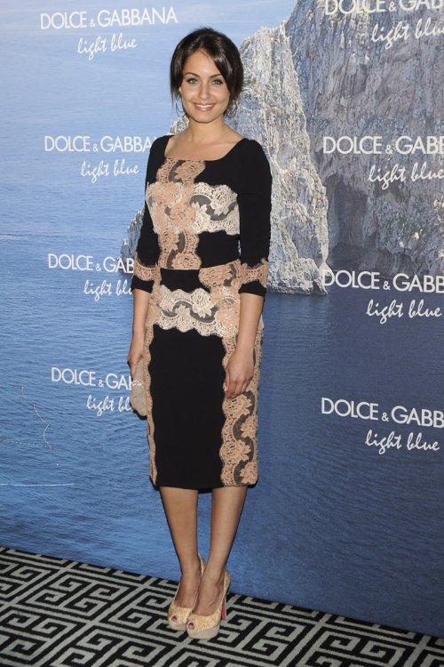 El look étnico de Hiba Abouk en la fiesta Dolce y Gabbana Mediterranean Summer 2013