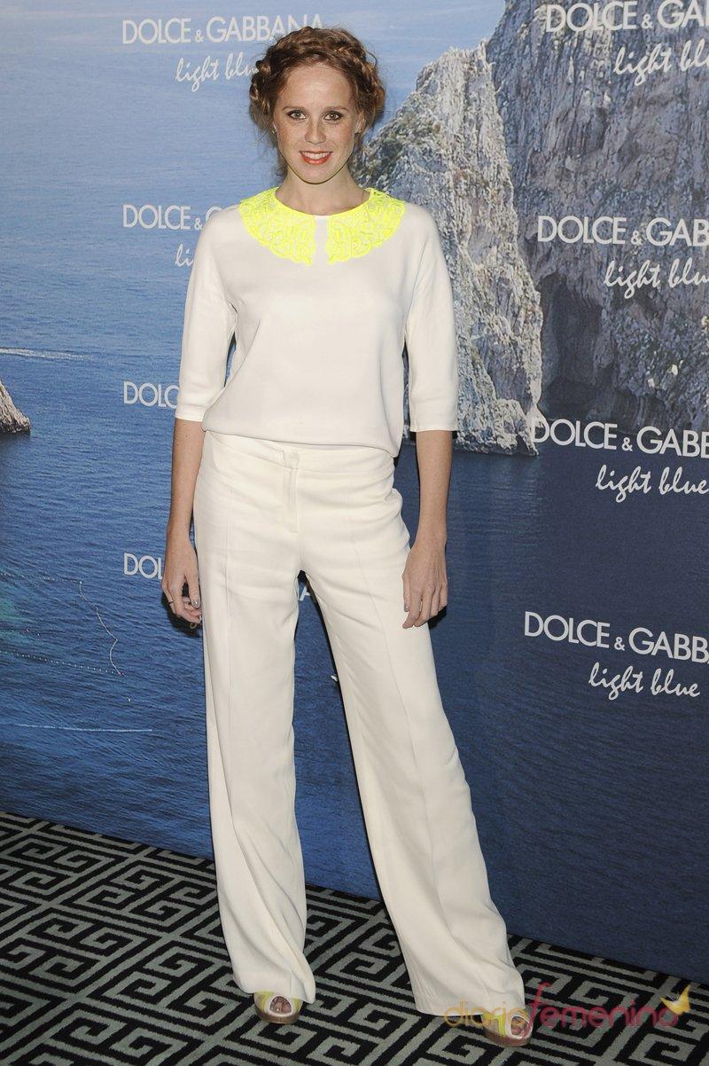 María Castro, muy aniñada, en la fiesta Dolce y Gabbana Mediterranean Summer 2013