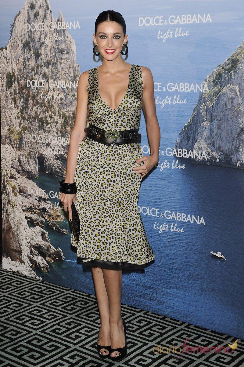 La modelo Noelia López en la fiesta Dolce y Gabbana Mediterranean Summer 2013