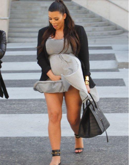 Kim Kardashian, pillada: otro descuido de famosa