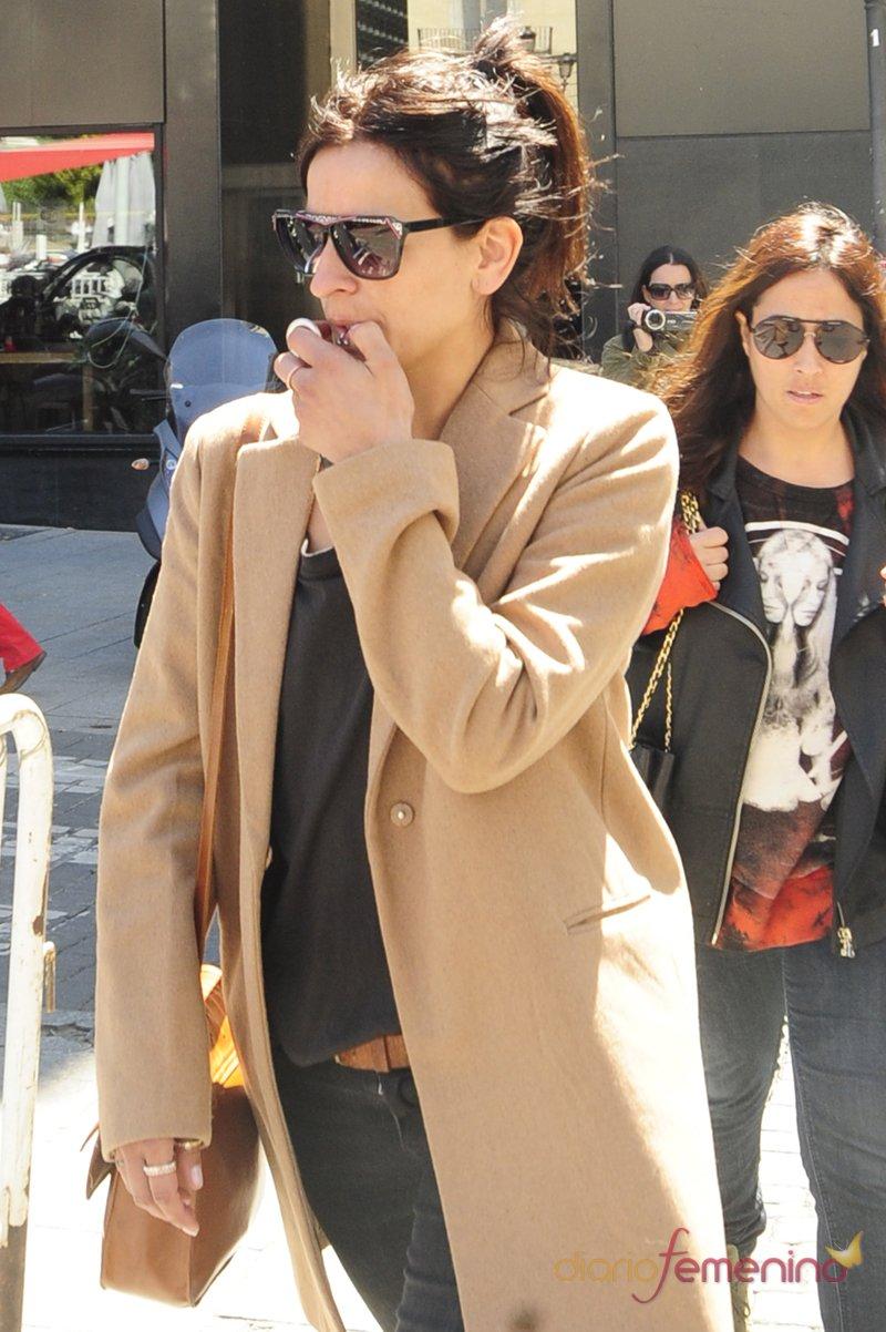La cantante Bebe, amiga de la pareja, da su apoyo a Raquel Sánchez Silva