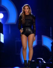 Macroconcierto por las mujeres: Beyoncé en el escenario