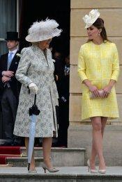El vestido de premamá amarillo de Kate Middleton