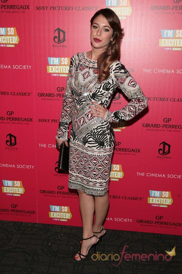 El vestido étnico de Blanca Suárez: perfecta en Nueva York