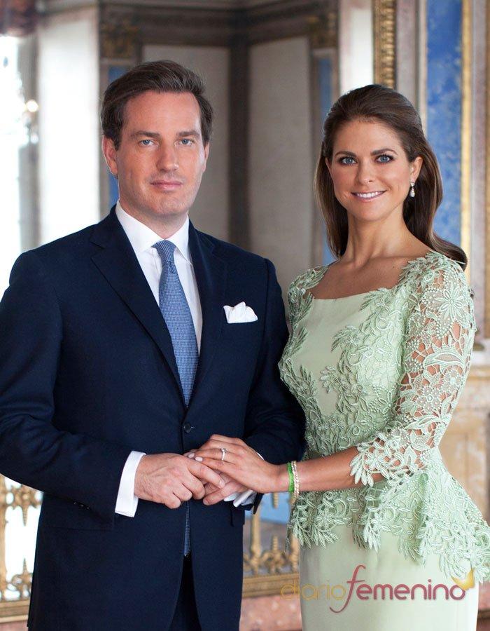 Magdalena de Suecia y Christopher O'Neill: un amor de cuento