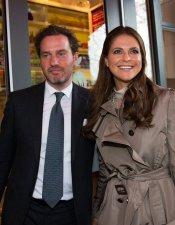 Magdalena de Suecia y Chris O'Neill, una pareja cosmopolita
