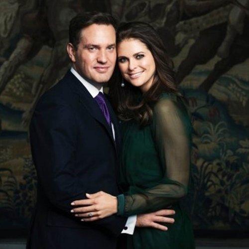 Magdalena de Suecia y Chris O'Neill: el amor en una imagen