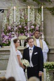 El vestido de Novia de Magdalena de Suecia y Chris O'Neill en la Boda Real