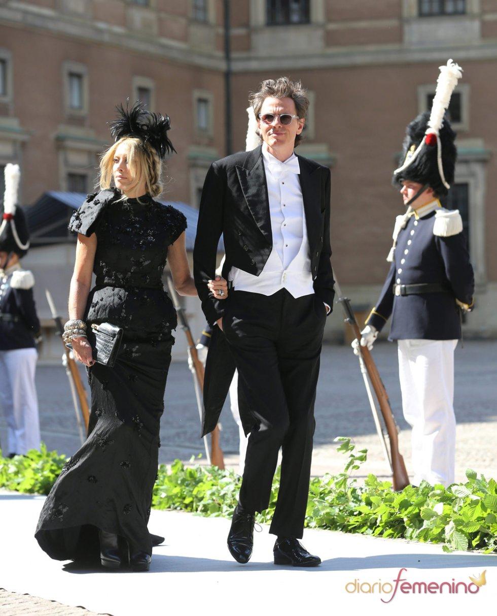John Taylor, del grupo Duran Duran, en la Boda Real de Suecia
