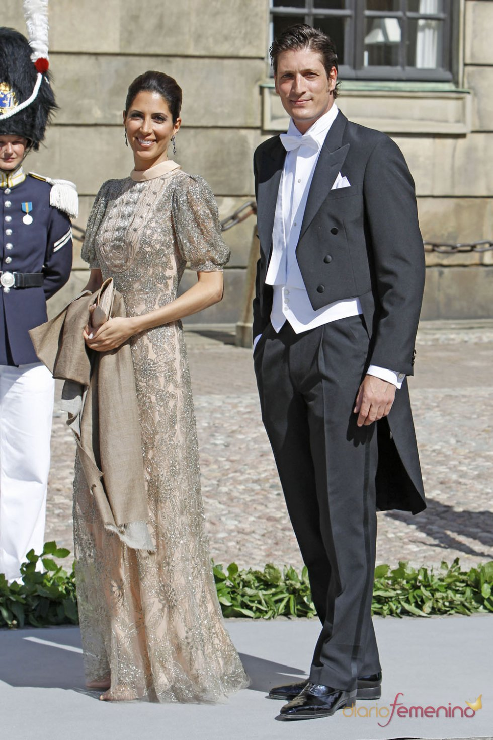 Luis Medina, único representante español en la Boda Real de Suecia