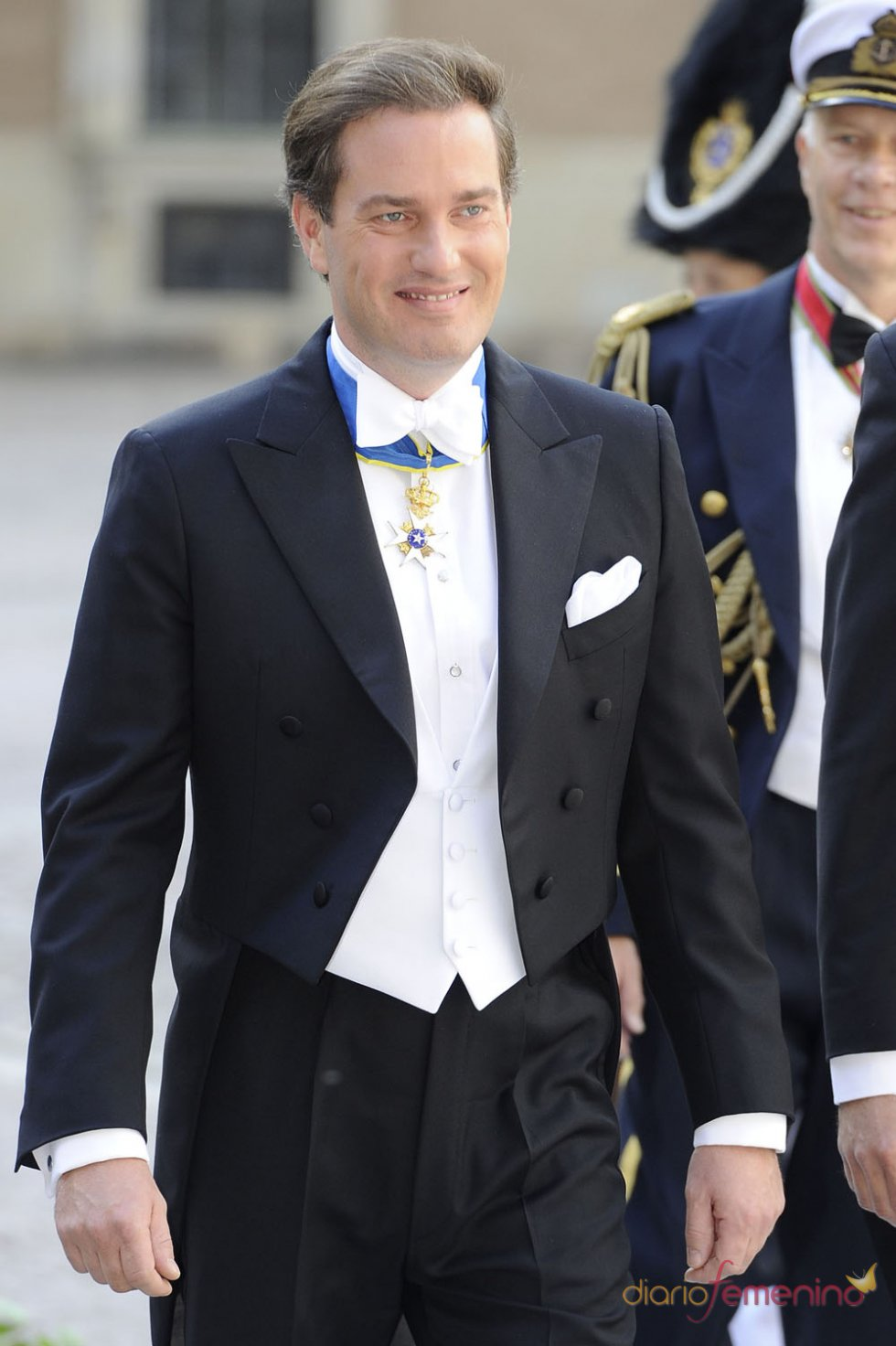 Chris O'Neill, traje de novio en la Boda Real de Suecia