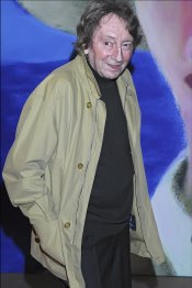 Elías Querejeta en el festival de cine de San Sebastián en 2007