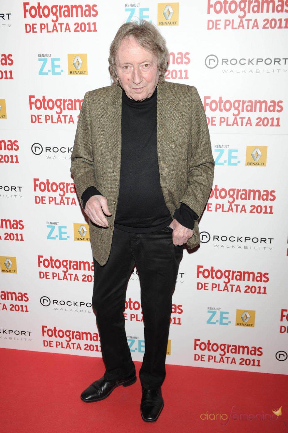 Elías Querejeta durante la celebración de los premios Fotogramas de Plata 2011