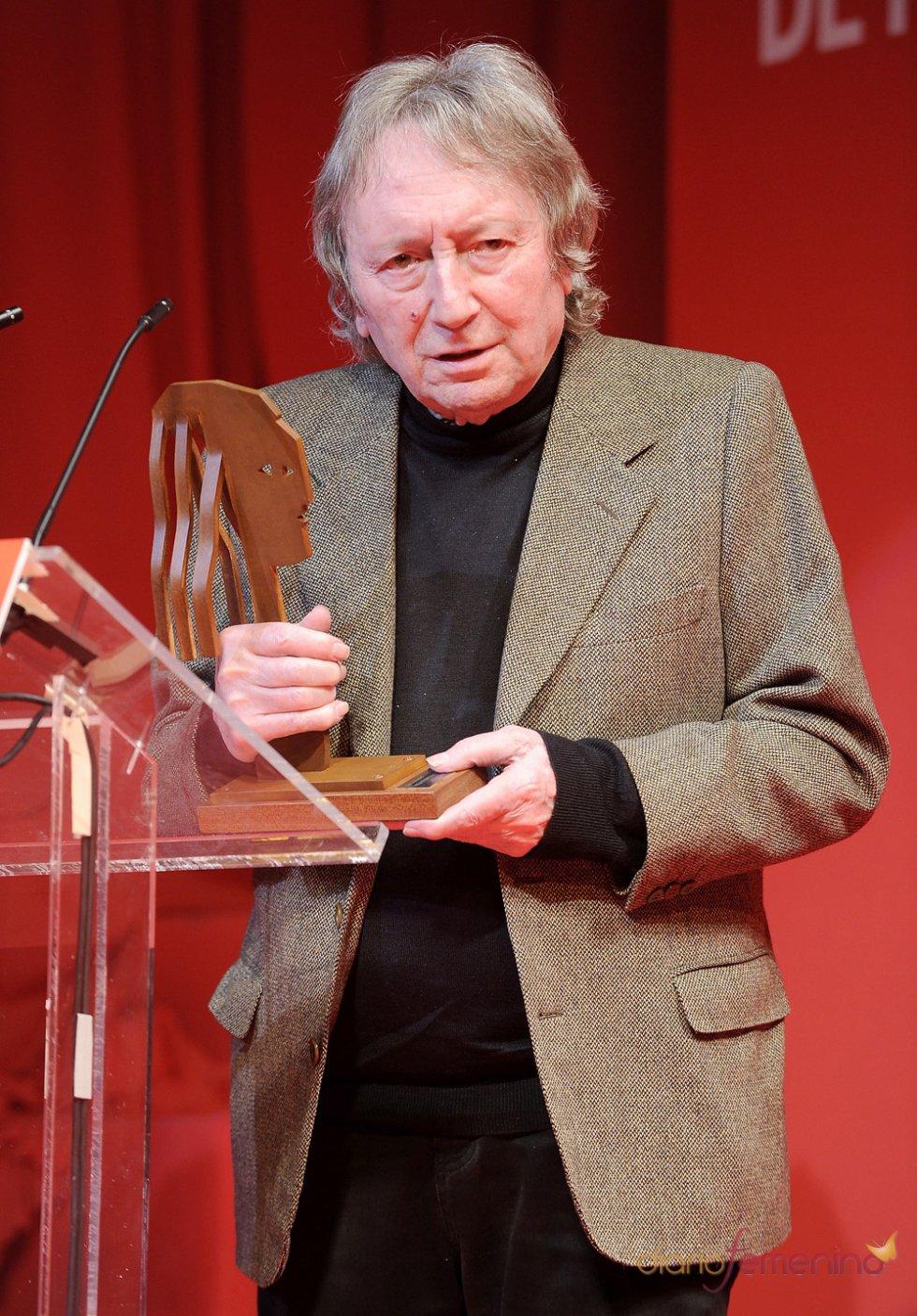 Eías Querejeta en la gala de entrega de premios de los Fotogramas de Plata 2011