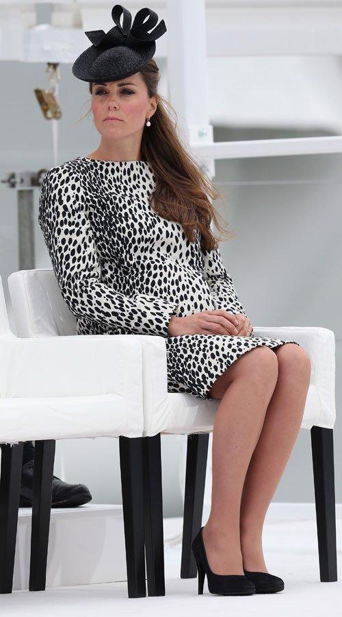 Kate Middleton, embarazada: vestidos de premamá y animal print