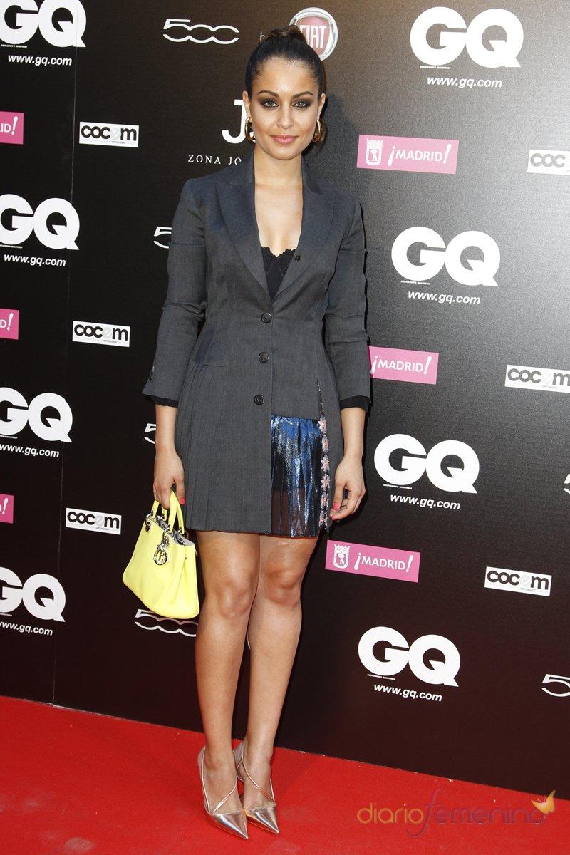 El look de Hiba Abouk en la fiesta de premios GQ 2013