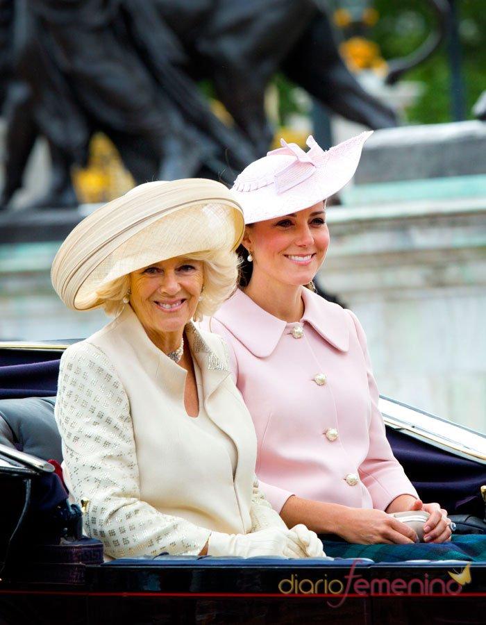 Kate Middleton y Camilla Parker: la guapa y la fea