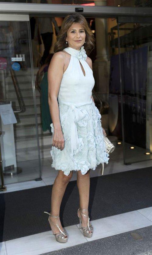 El look de Gema López en la boda de la directora de 'Sálvame Deluxe'