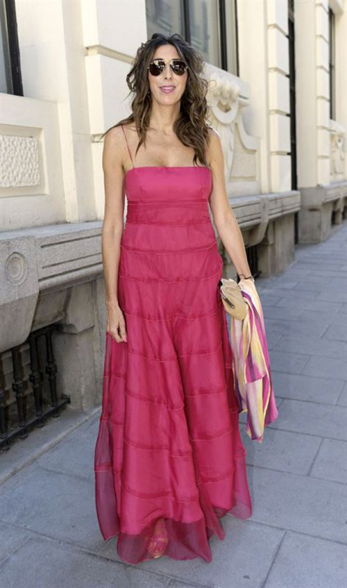 El look de Paz Padilla en la boda de la directora de 'Sálvame Deluxe'