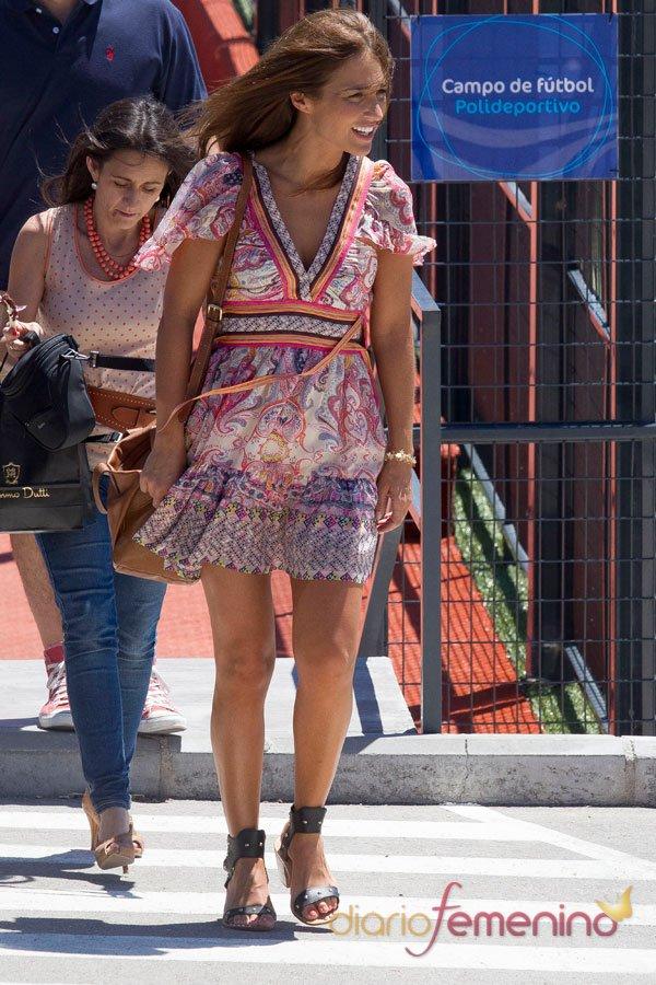 El vestido étnico de verano de Paula Echevarría