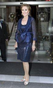 El look de Rosa Benito en la boda de la directora de 'Sálvame Deluxe'