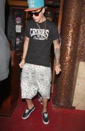 Justin Bieber estrena tatuajes, su brazo izquierdo invadido