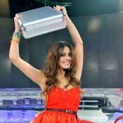 Susana, nueva ganadora de GH 14, con su preciado maletín