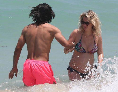 Radamel Falcao y Lorelei Tarón, juegos en Miami
