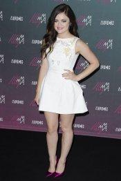 Lucy Hale, guapísima en la gala MuchMusic 2013
