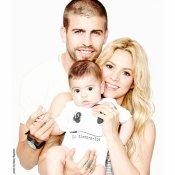 La felicitación de Milan y Shakira a Gerard Piqué por el Día del Padre