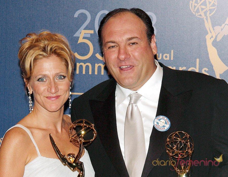 Tony Soprano y Carmela, el otro matrimonio de James Gandolfini