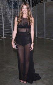 El look transparente de Bianca Bradolini