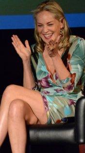 El descuido (otro más) de Sharon Stone