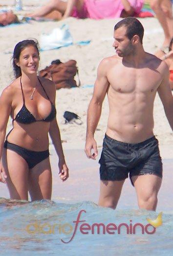 El cuerpazo espectacular de Javier Mascherano: otro modelo del Barça