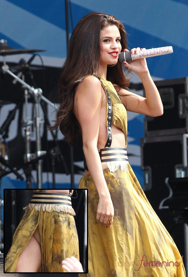 El descuido de Selena Gomez: ¿llevaba bragas la cantante?
