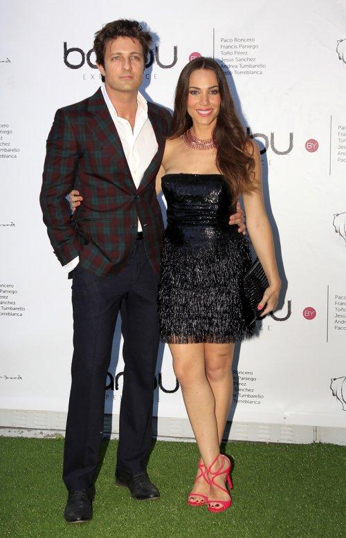 Jesús Olmedo, protagonista de Hispania, junto a su novia Nerea Garmendia