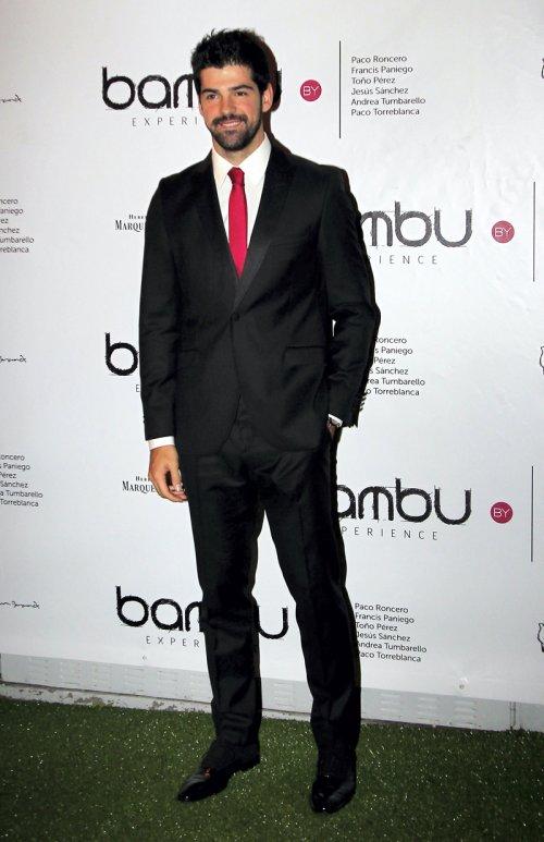 Miguel Ángel Muñoz en la fiesta de cumpleaños de Bambú Producciones