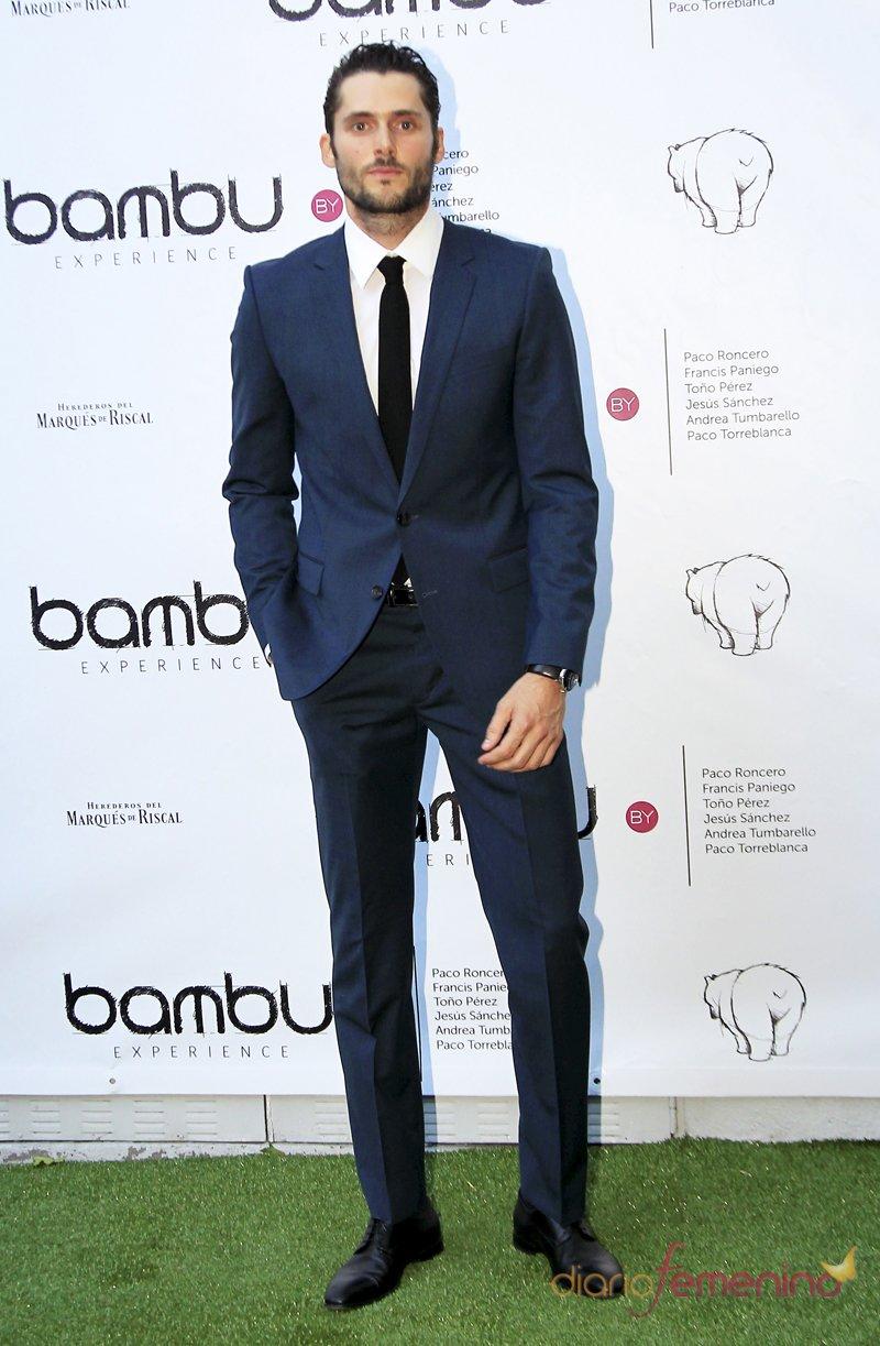 Sergio Mur, protagonista de Águila Roja, en el quinto cumpleaños de Bambú Producciones