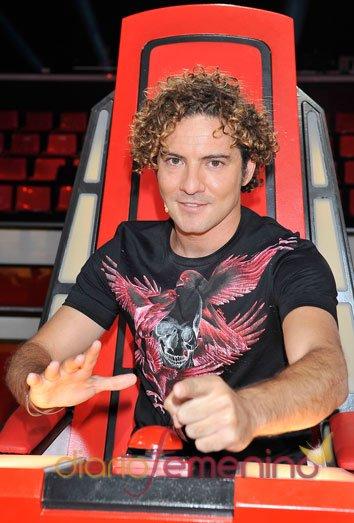 David Bisbal repite como coach de 'La Voz'